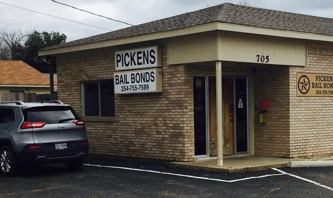 Pickens Bail Bonds Office in Bellmead
